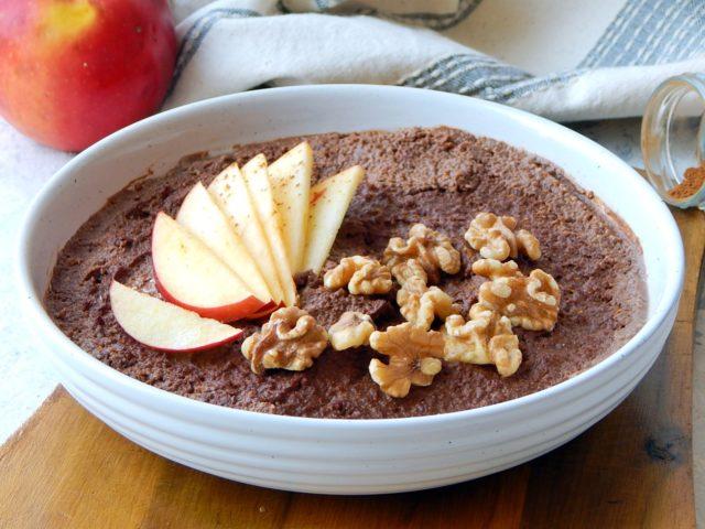 czekoladowy budyń jaglany- zdrowe odżywianie, dietetyk a odchudzanie