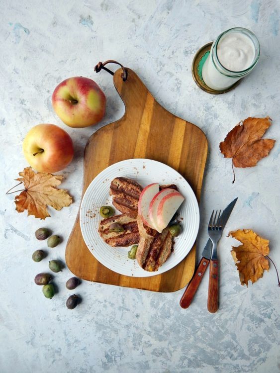 chleb w jajku, grzanki francuskie - zdrowe odżywianie, dietetyk a odchudzanie. smaki dzieciństwa