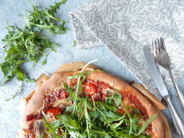 pizza na ciescie orkiszowym, dietetyk a odchudzanie