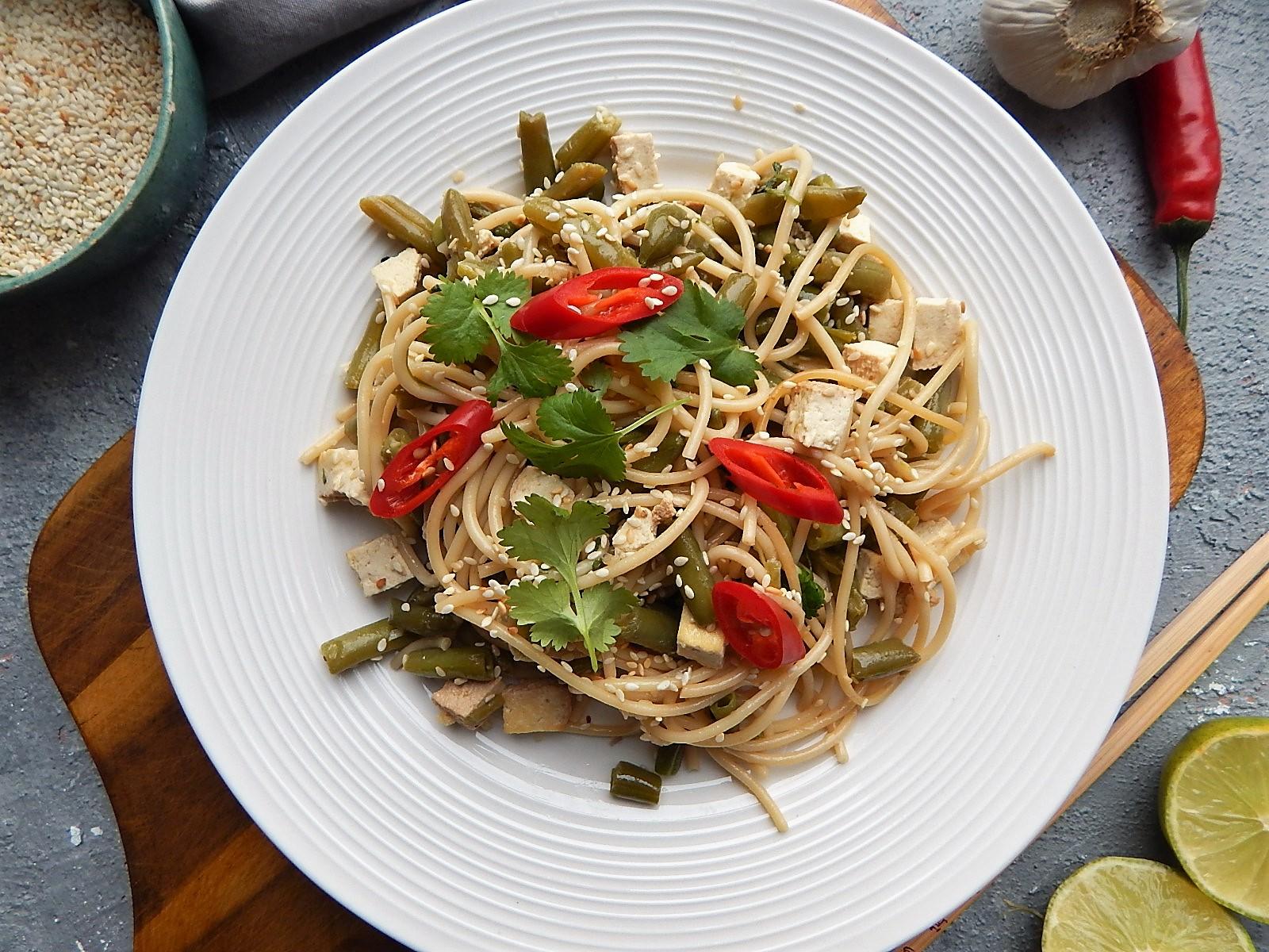 makaron z tofu po azjatycku, dieta indywidualna