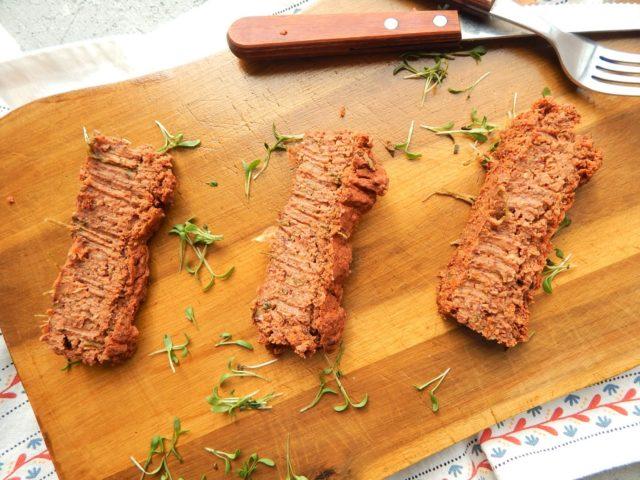 pasztet z czerwonej fasoli, wegetarianizm
