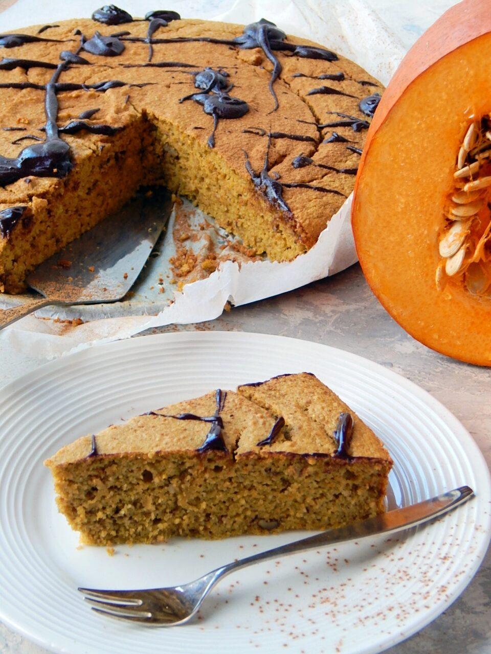 ciasto dyniowe, zdrowe przepisy