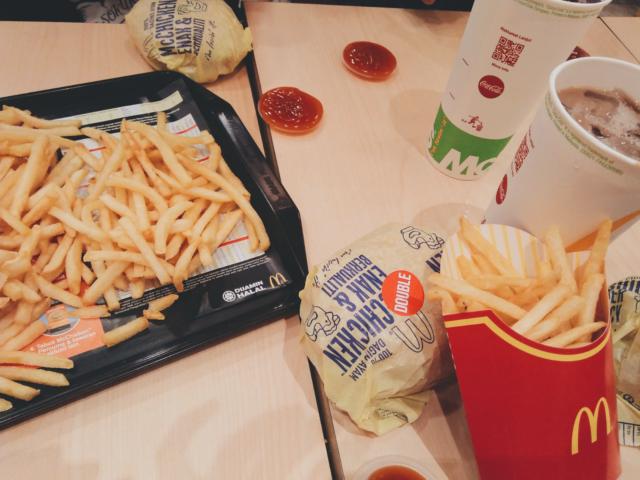 fastfood, odchudzanie, efekt jojo