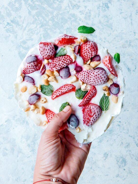 lody jogurtowe bez cukru